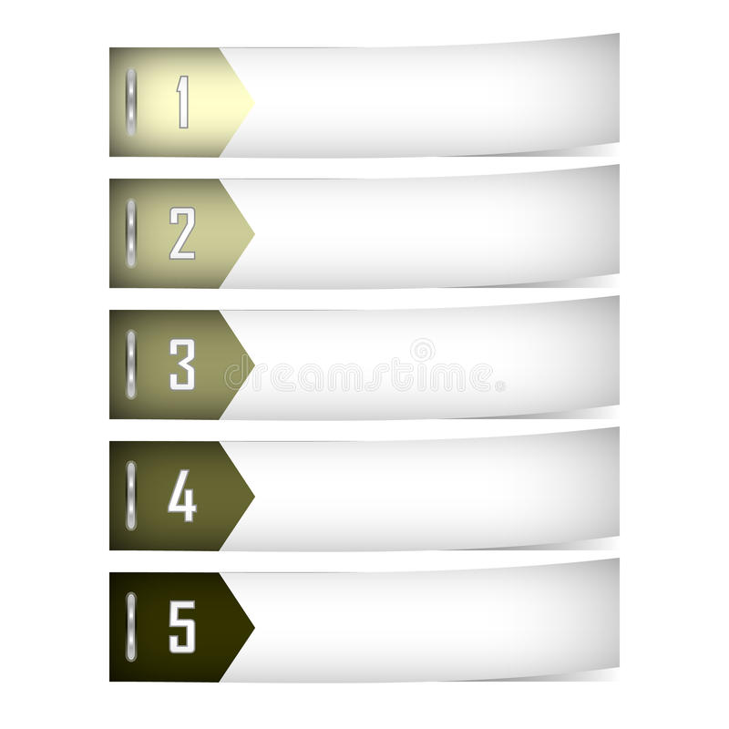 Download Banner Set stock vector. Illustration of color, shadow - 30667157