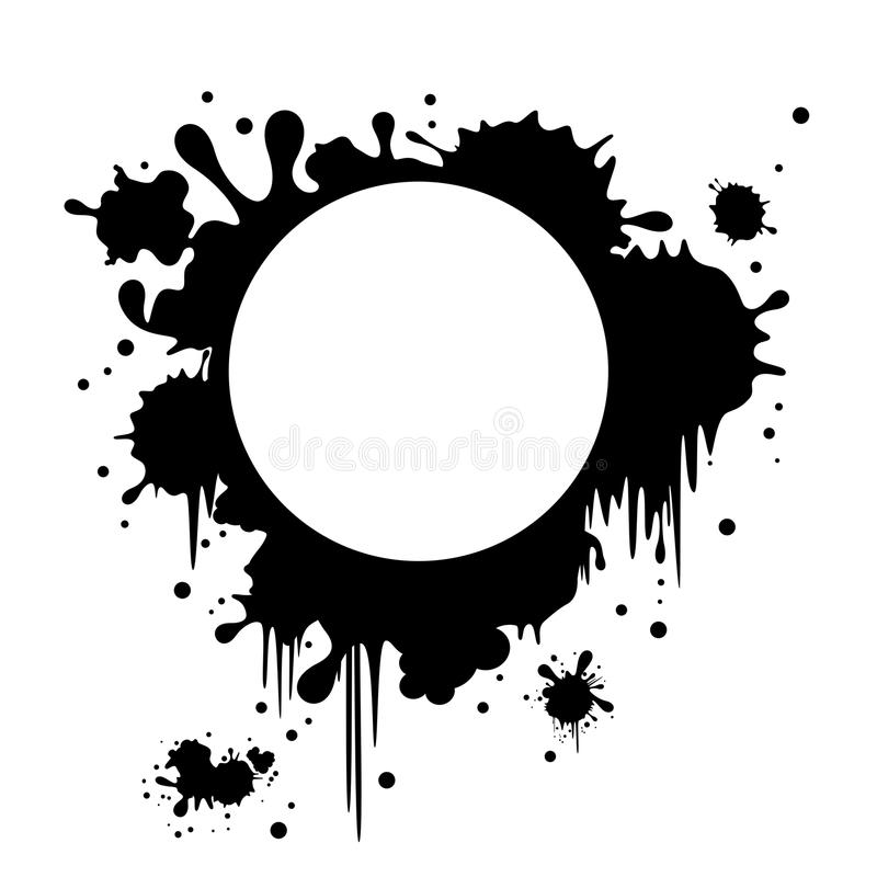 Download Banner stained stock vector. Image of dirty, black, blots - 14665808