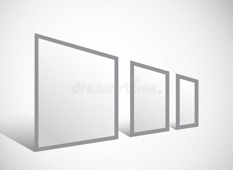 Banner Stand Stock Image