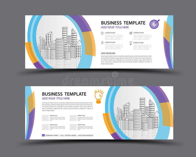 Banner Template Vector, Abstract Background, Web Banner Template ...