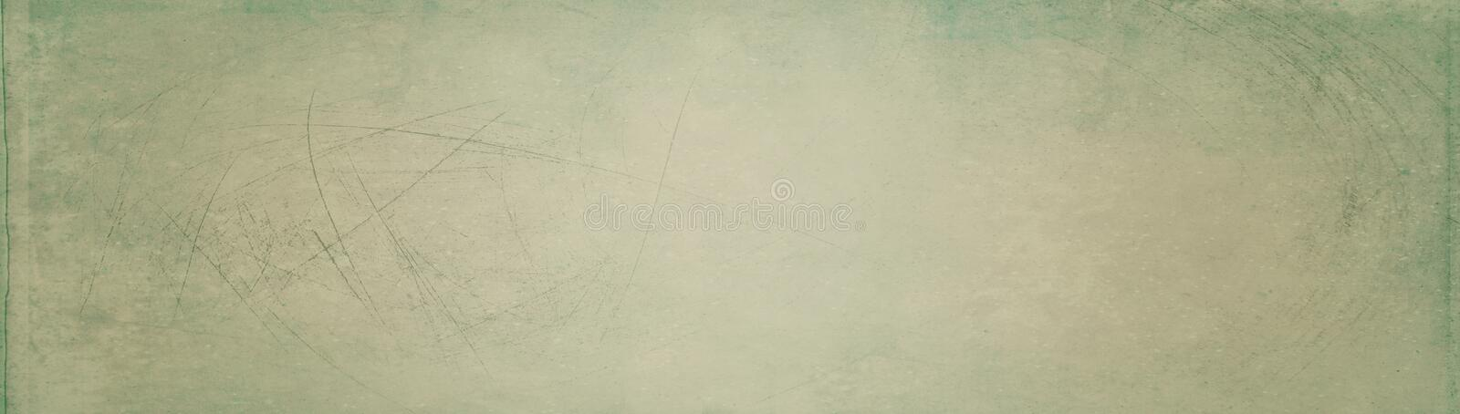 Banner with vintage background - web header template - website design - simple design royalty free stock image