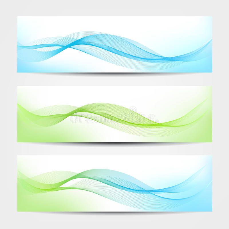 Download Banner - Water Waves stock vector. Illustration of colorful - 33005220