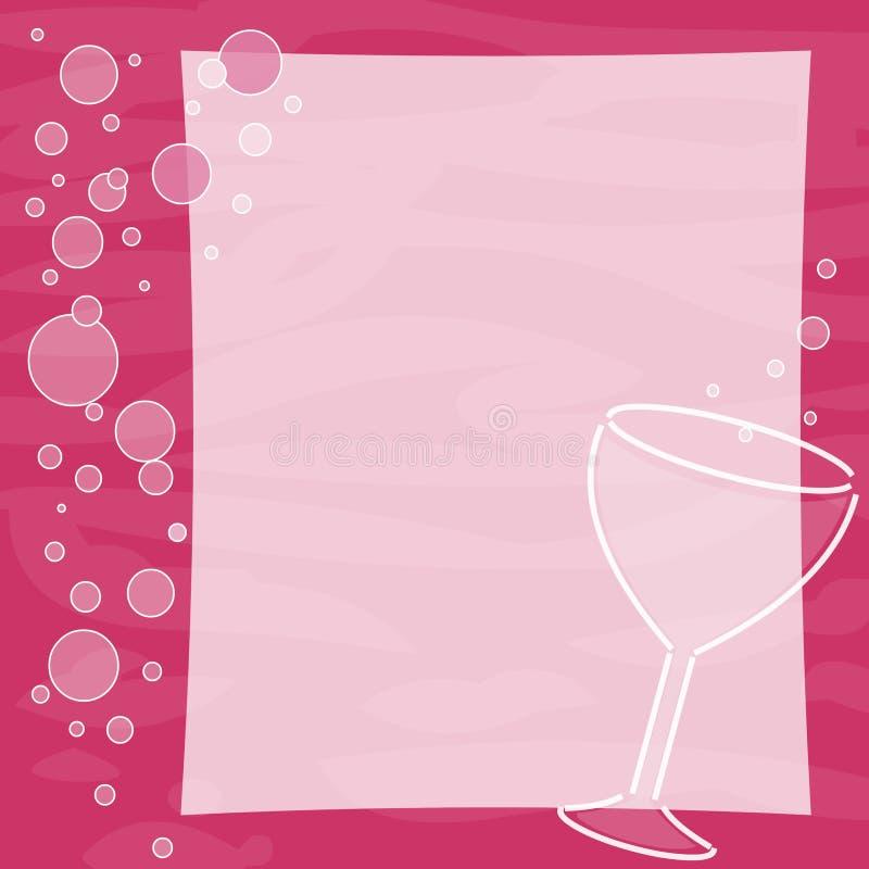 banner wino ilustracja wektor