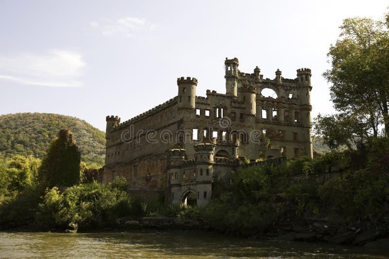 Bannerman Schloss-Fluss-Ansicht stockfotografie
