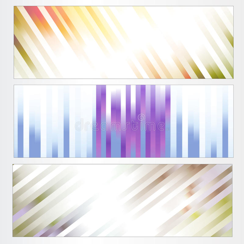Download Banners stock vector. Image of illustration, advertise - 13876656