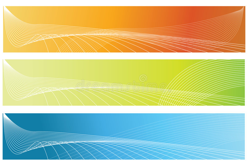Banners. Vector abstract banner colourful blurred