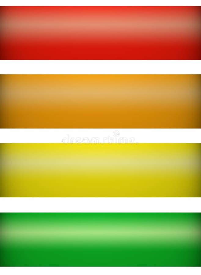 Download Banners stock illustration. Illustration of energy, blur - 7449382