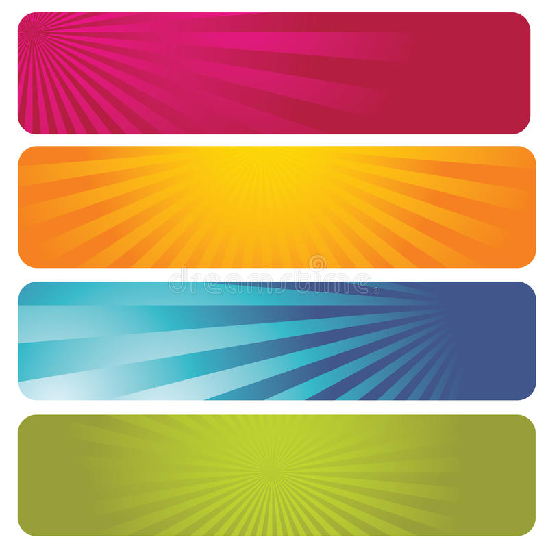 Banners royalty free illustration