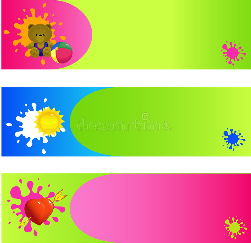 Download Banners, Backgrounds Stock Image - Image: 7706301
