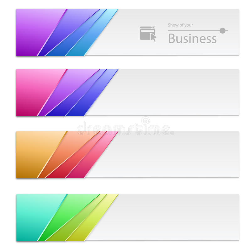 Download Banners stock vector. Image of beams, blend, data, buttons - 31008086
