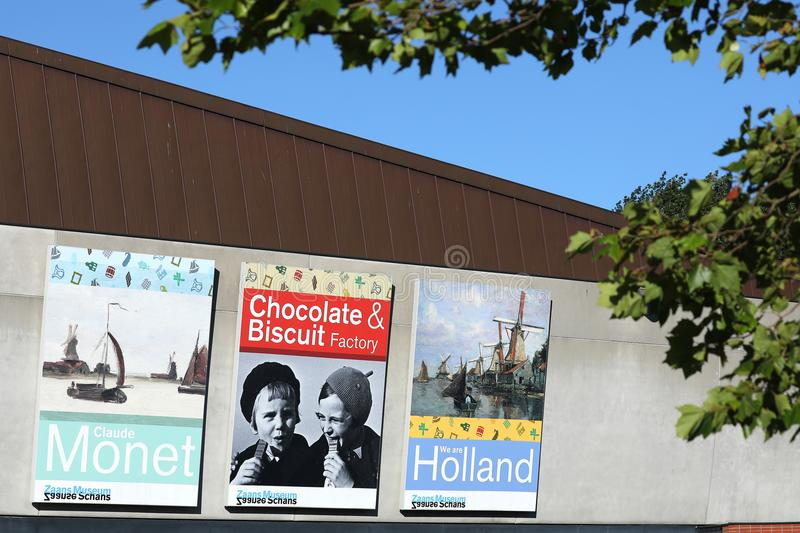 Banners in Holland royalty-vrije stock fotografie