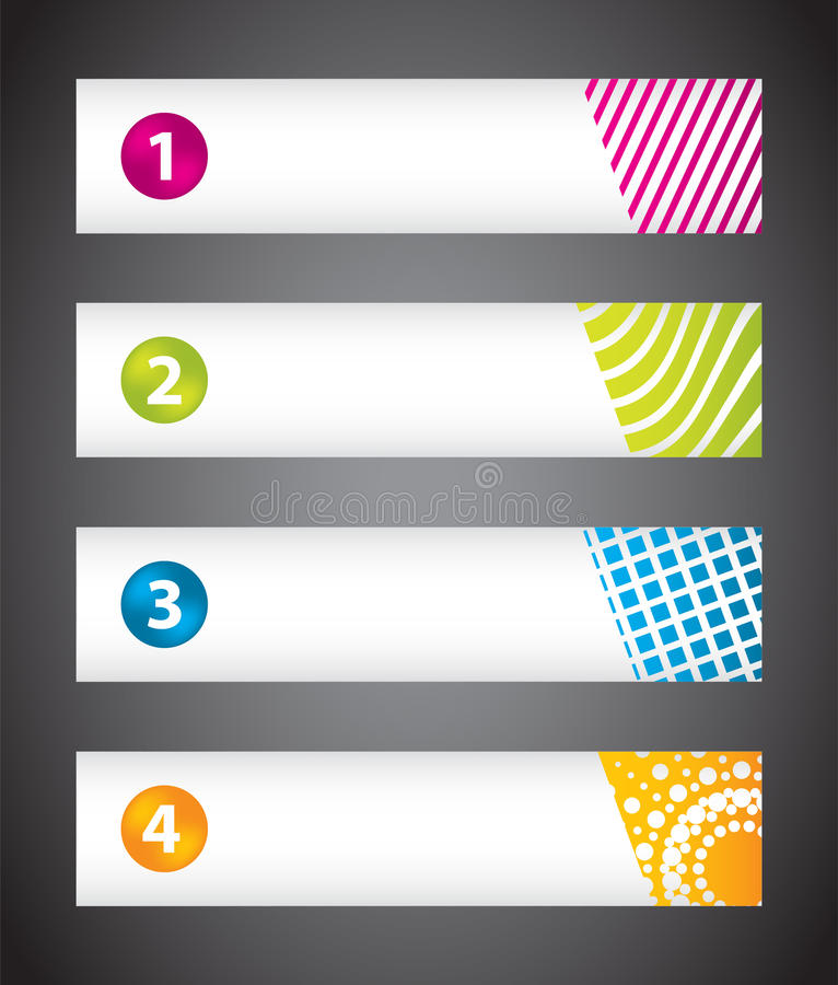Download Banners With Special Design Stock Vector - Image: 26822637