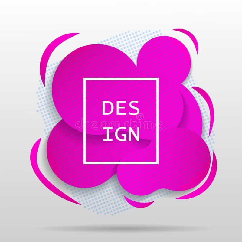 Banners van het gradiënt de vloeibare ontwerp stock illustratie