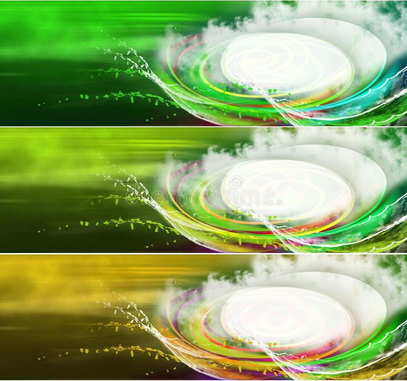 Download Banners for web stock illustration. Image of glow, texture - 13410561
