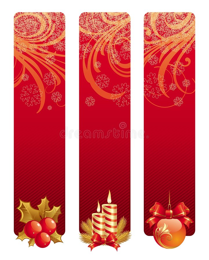 Free Banners With Christmas Symbol Royalty Free Stock Images - 6786949