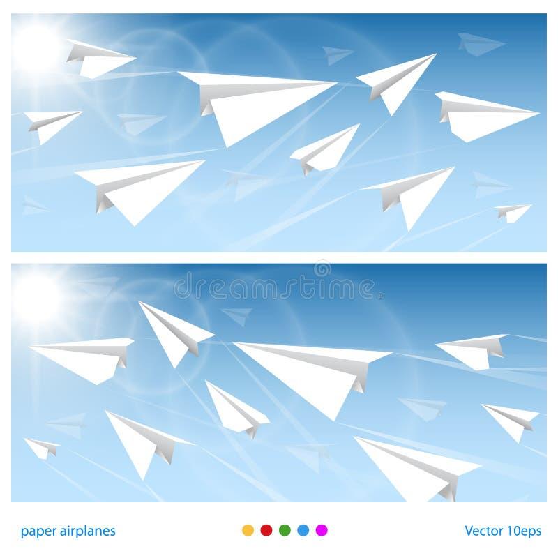 Bannervluchten vector illustratie
