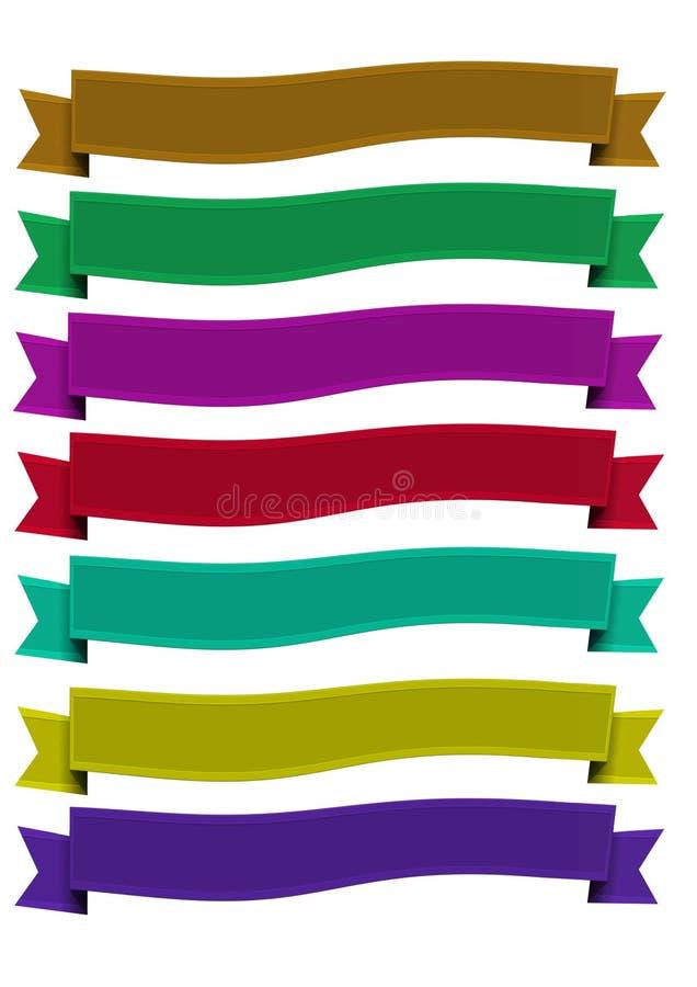 Exceptionnel Bannière De Ruban D'élégance Images libres de droits - Image: 36524829 KG78
