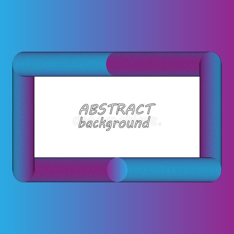 Bannière colorée abstraite du calibre 3D Vecteur ENV 10 photos stock