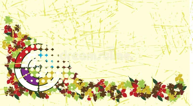 Bannière de Paintball illustration libre de droits