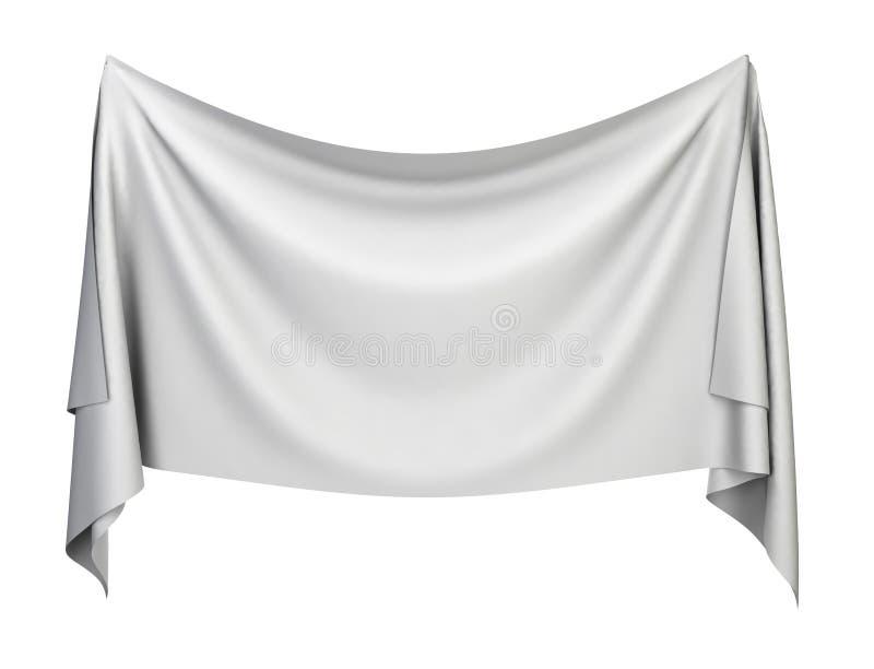 Bannière de tissu illustration libre de droits