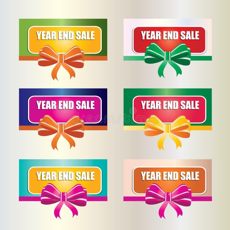 Bannière de vente illustration stock