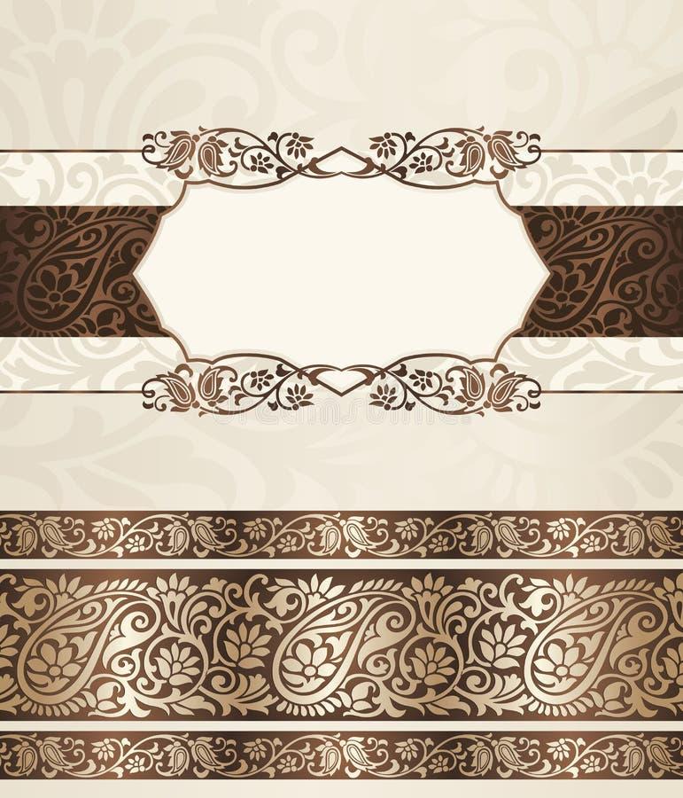 Bannière royale de vecteur illustration stock