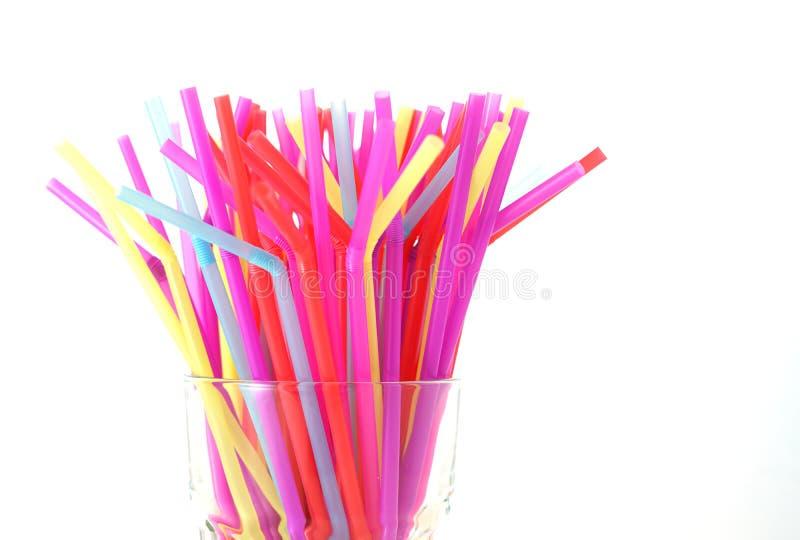 Banning plastic straws enviromental concerns concept. royalty free stock photo