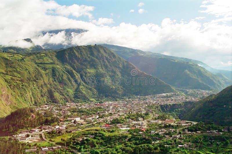 banos厄瓜多尔 免版税库存图片