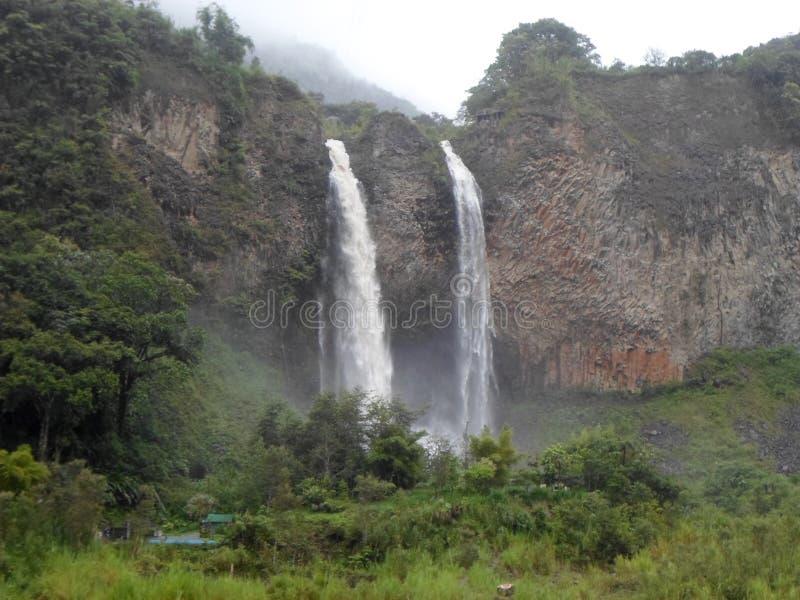 Banos de Agua Santa, Equateur photos libres de droits