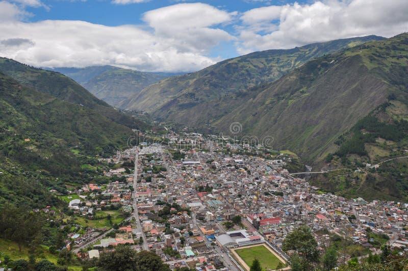 Banos de Santa Agua, Equador fotos de stock