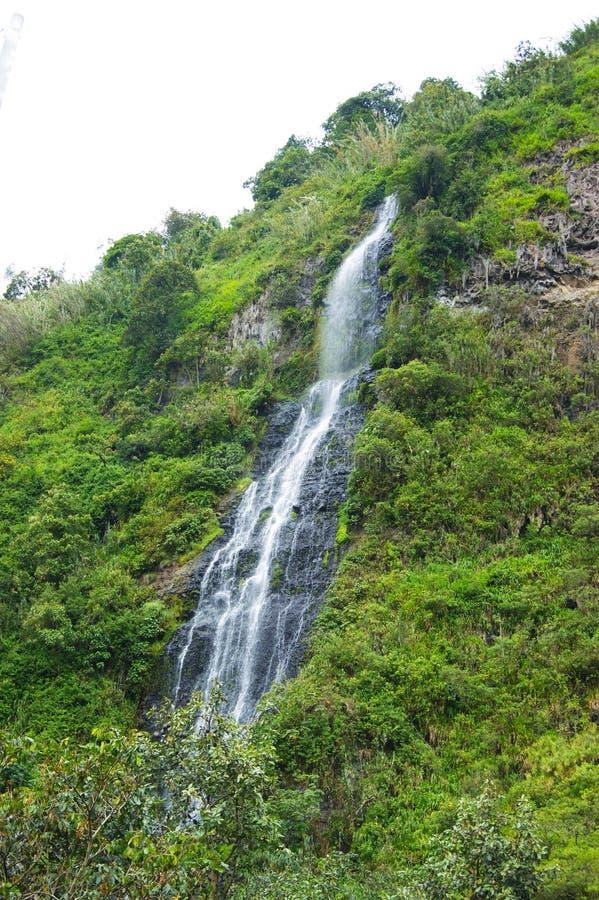 Banos, de Waterval van Ecuador stock afbeeldingen