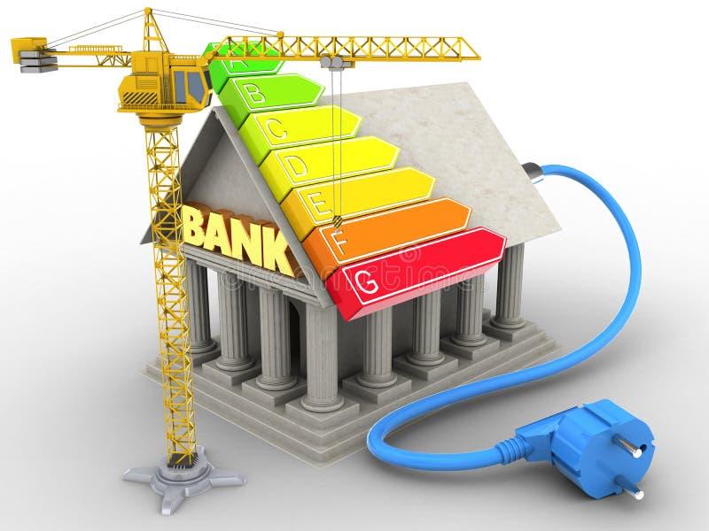 banque 3d illustration stock