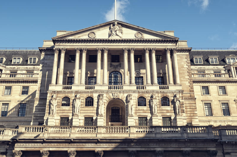 Banque d'Angleterre photographie stock