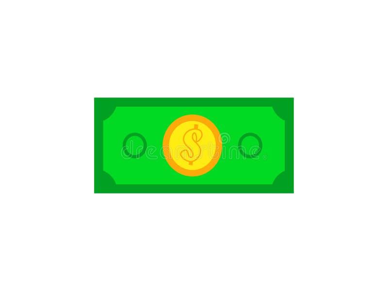 Banque d'argent sur le fond abstrait blanc illustration de vecteur