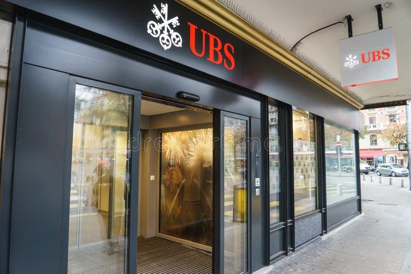 Banque d'UBS photo libre de droits