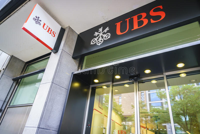 Banque d'UBS images stock