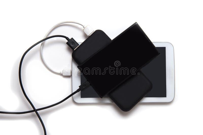 Banque de puissance noire photos stock