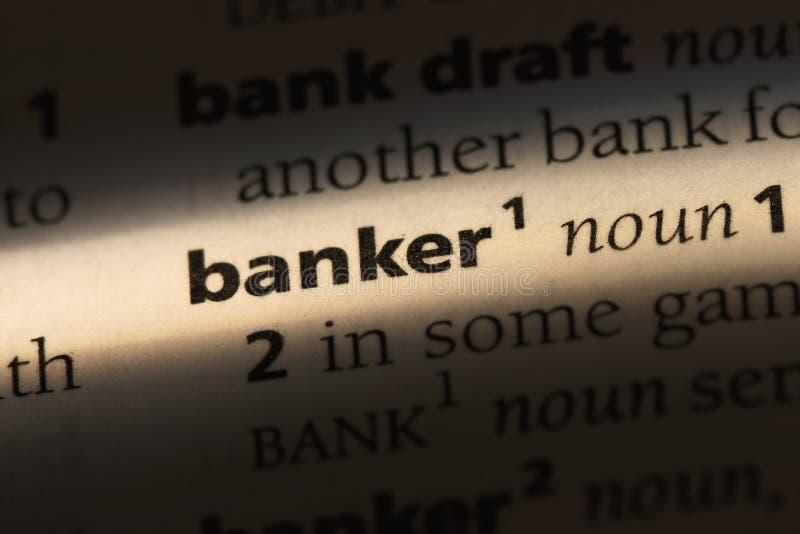 banqueiro fotografia de stock