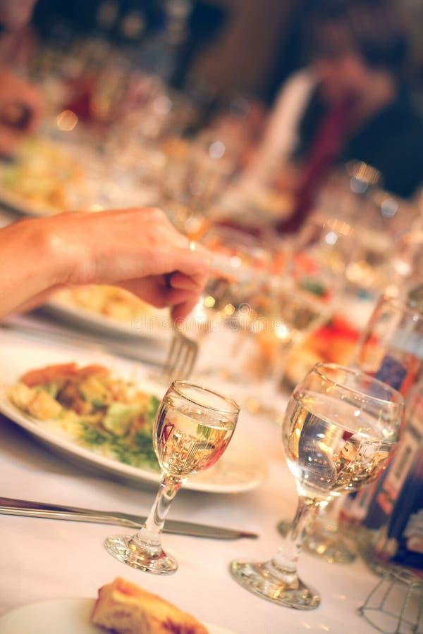 Banquet image libre de droits