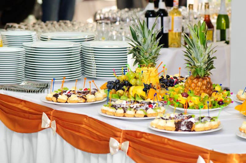 Download Banquet dessert table stock image. Image of fruits, fancy - 8763603
