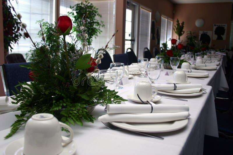 Banquet formel II images libres de droits