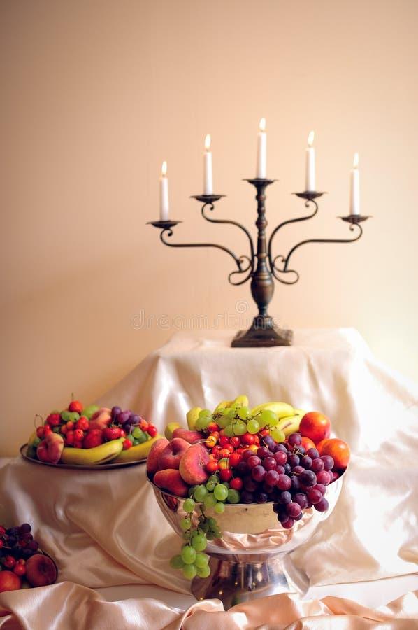 Banquet fruits royalty free stock photos