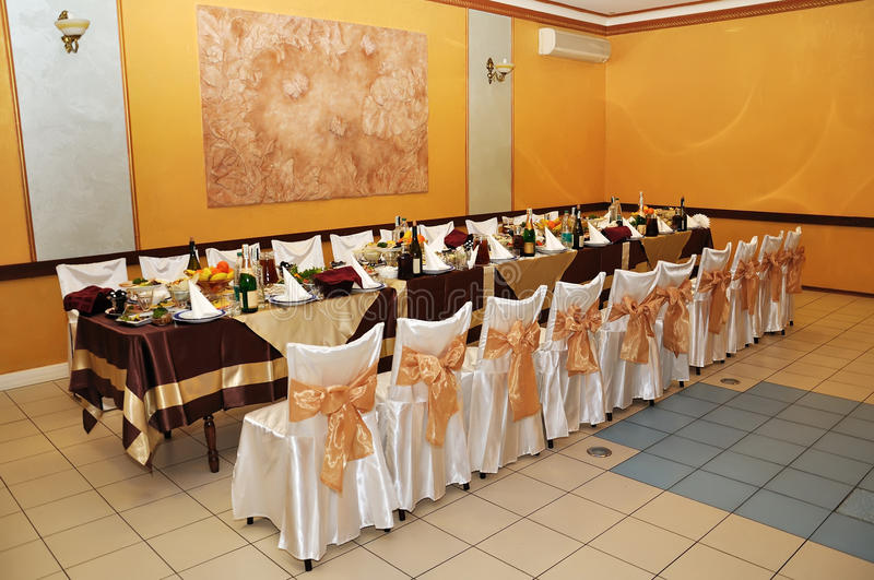 Banquet Hall Royalty Free Stock Photos