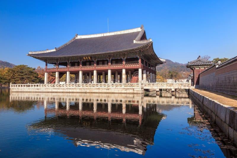 Download Banquet Royal Hall De Gyeonghoeru Photo stock - Image du korea, culture: 56484468