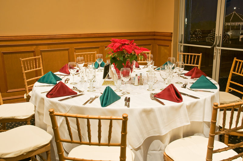 Download Banquet table stock image. Image of chair, place, catering - 7440485