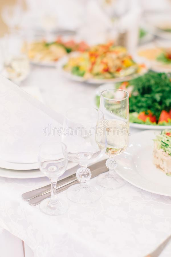 Download Decorated Banquet Table Setting Stock Photo - Image of dine elegance 100636892 & Decorated Banquet Table Setting Stock Photo - Image of dine ...