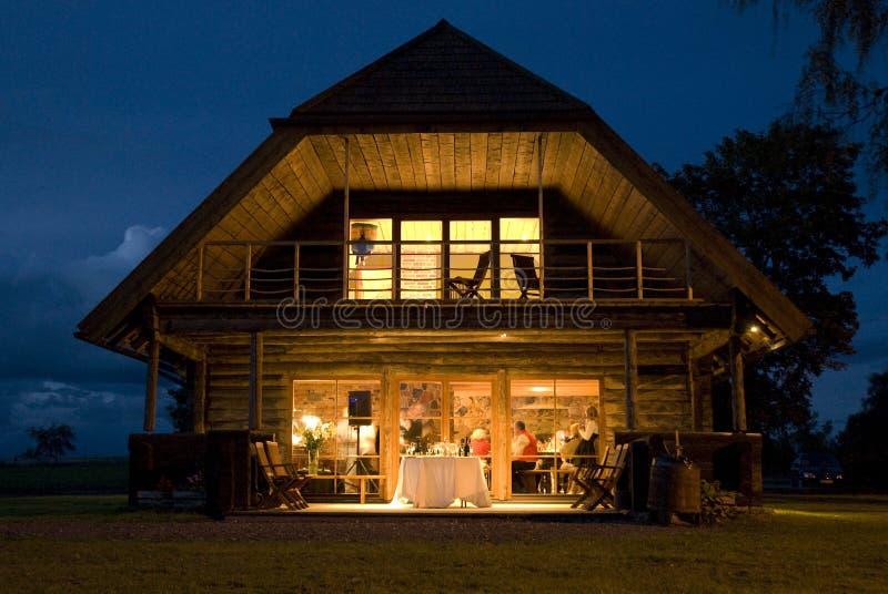 Banquete de casamento na casa foto de stock royalty free