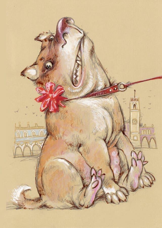 Download Banquete del santo patrón stock de ilustración. Ilustración de animal - 7150697
