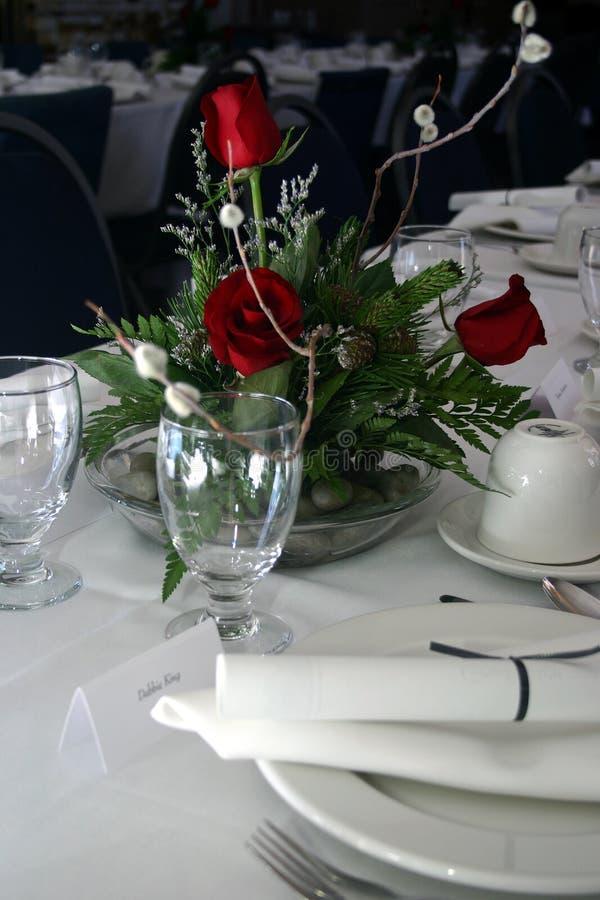 Banquete formal III foto de archivo