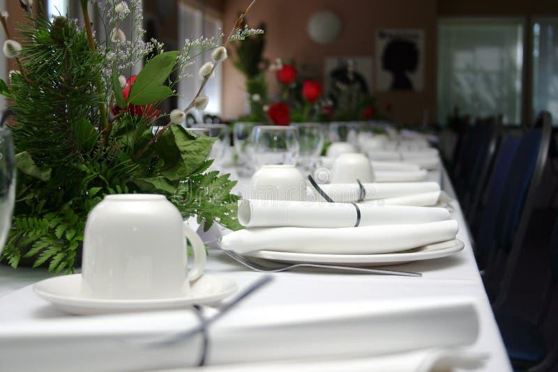 Banquete formal mim fotografia de stock royalty free